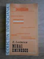 Anticariat: Eugen Lovinescu - Mihai Eminescu