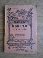 Horatiu - Ode si epode