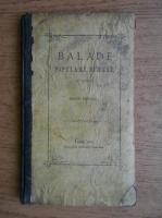 Miron Pompiliu - Balade populare romanesti (1870)