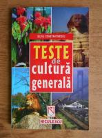 Silviu Constantinescu - Teste de cultura generala