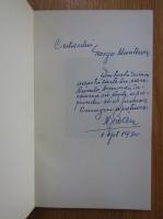 Alexandru Serban - Ranile armoniei. Versuri (cu autograful autorului)