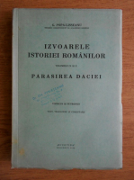 Anticariat: G. Popa Lisseanu - Izvoarele istoriei romanilor