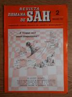 Revista romana de sah, nr. 2, 1990