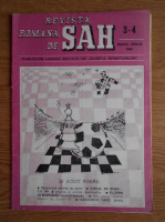 Revista romana de sah, nr. 3-4, 1990