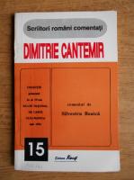 Silvestru Boatca - Dimitrie Cantemir