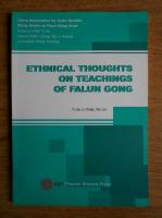 Anticariat: Yi Jia - Ethnical thoughts on teachings of Falun Gong