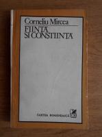 Anticariat: Corneliu Mircea - Fiinta si constiinta