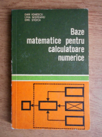 Dan Ionescu - Baze matematice pentru calculatoare numerice