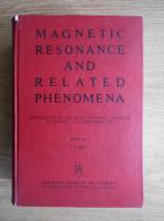 Anticariat: Magnetic resonance and related phenomena