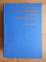 Anticariat: Pavel Simici - Elemente de semiologie clinica chirurgicala