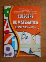 Stefan Smarandache - Culegere de matematica pentru clasa a VII-a