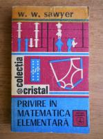 Anticariat: W. W. Sawyer - Privire in matematica elementara