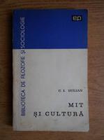 Anticariat: C. I. Gulian - Mit si cultura