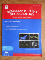 Carmen Ginghina - Revista romana de cardiologie. Vol. 27, nr. 1 (editie bilingva)
