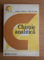 Donald Pietrzyk - Chimie analitica