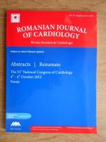Eduard Apetrei - Revista romana de cardiologie. Vol. 22, Suplimentul A (editie bilingva)