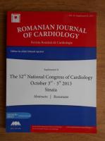 Eduard Apetrei - Revista romana de cardiologie. Vol. 23, Suplimentul B (editie bilingva)