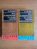 Anticariat: G. Russu - Boli si sindroame cu nume proprii. Ghid-dictionar (2 volume)