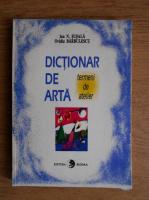 Ion N. Susala - Dictionar de arta. Termeni de atelier