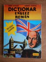 Anticariat: Leon Levitchi - Dictionar englez roman