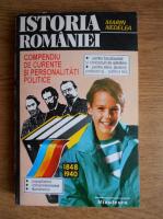 Marin Nedelea - Istoria Romaniei. Compendiu de curente si personalitati politice