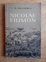 Anticariat: George Calinescu - Nicolae Filimon