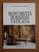 Ion Dumitriu Snagov - Monumenta romaniae vaticana
