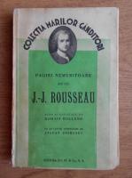 Anticariat: Romain Rolland - Pagini nemuritoare ale lui J. J. Rousseau (1936)