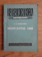 Anticariat: V. G. Corolenco - Muzicantul orb