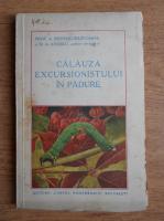 Anticariat: A. Popovici Baznosanu - Calauza excursionistului in padure (1935)