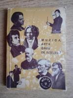 George Balan - Muzica, arta greu de inteles?