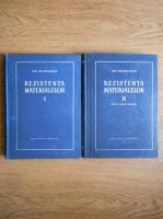 Gheorghe Buzdugan - Rezistenta materialelor (2 volume)