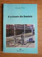 Nicolae Pera - O scrisoare din Romania