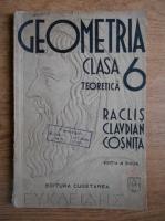 C. Cosnita, Neculai Raclis, V. Claudian - Geometria, clasa a VI-a teoretica (1939)