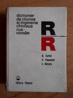Anticariat: Dumitru Turtoi - Dictionar de chimie si inginerie chimica rus-roman