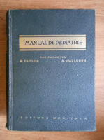 Anticariat: G. Fanconi - Manual de pediatrie