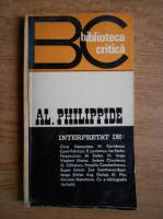 Anticariat: George Gibescu - Al. Philippide
