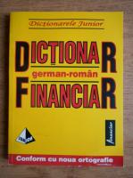 Monica Livia Plamadeala - Dictionar financiar german roman