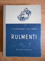 Anticariat: R. D. Beizelman - Rulmenti