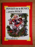 Viniciu Gafita - Povesti de la bunici pentru pitici. Antologie de povesti pentru prescolari
