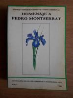 Anticariat: Homenaje a Pedro Montserrat