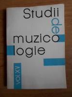 Corneliu Buescu - Studii de muzicologie (volumul 15)