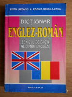 Anticariat: Edith Iarovici - Dictionar englez-roman. Lexicul de baza al limbii engleze