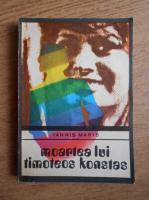 Anticariat: Iannis Maris - Moartea lui Timoteos Konstas