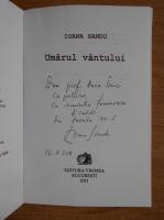 Anticariat: Ioana Sandu - Umarul vantului (cu autograful autoarei)