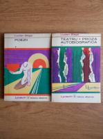 Anticariat: Lucian Blaga - Poezii. Teatru. Proza autobiografica (2 volume)