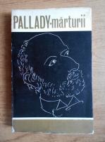 Anticariat: Marin Mihalache - Pallady, marturii