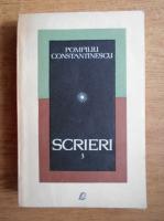 Anticariat: Pompiliu Constantinescu - Scrieri (volumul 3)