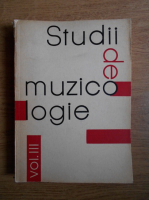 Anticariat: Studii de muzicologie (volumul 3)