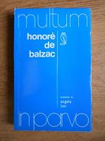 Anticariat: Angela Ion - Honore de Balzac